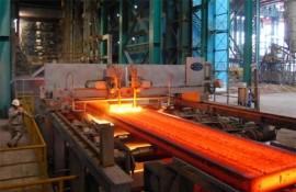 China steel mills