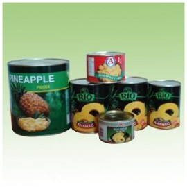 tinplate canned food