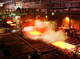 steel plate production