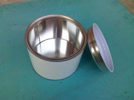 tinplate round can